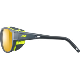 Julbo Expl*** 2.0 Zebra Sunglasses Matt Gray/Green-Yellow/Brown